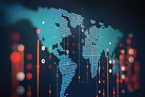 Digital global map