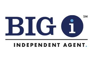 big i independent agent logo