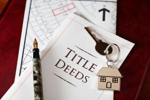 Title deeds and house keys
