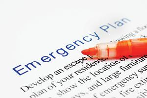 Close-up emergency plan description