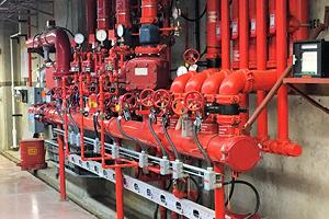 Industrial commercial fire system