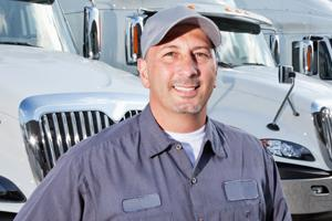 commercial truck driver