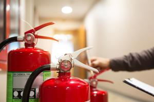 inspecting fire extinguishers